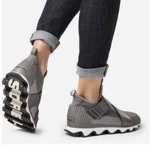 Sorel Women's kinetic gray Athletic sneakers